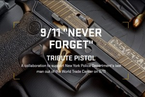 911 Never Forget Tribute Pistol