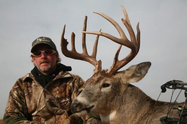 Save 10% on Kansas Pre-Rut Trophy Whitetail Bow Hunts