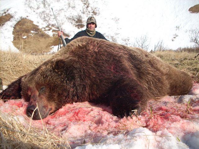 """2021 """"2x1"""" Alaska Spring Brown Bear Hunt Special"""